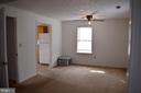 1806 Upstairs Apartment Living Room - 1806 FALL HILL AVE, FREDERICKSBURG