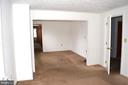 1806 Upstairs Apartment Living/Dining Room - 1806 FALL HILL AVE, FREDERICKSBURG