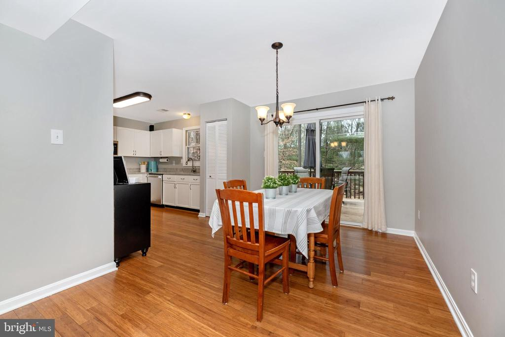 Dining and kitchen combo - 7206 PADDOCK CT, NEW MARKET