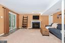 Fully finished basement and walk out - 7206 PADDOCK CT, NEW MARKET