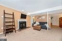 Wood burning fireplace - 7206 PADDOCK CT, NEW MARKET