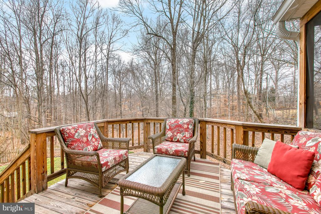Open deck for entertaining - 131 EUSTACE RD, STAFFORD