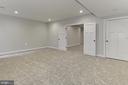 Lower level bedroom - 7423 FOUNDATION WAY, SPRINGFIELD