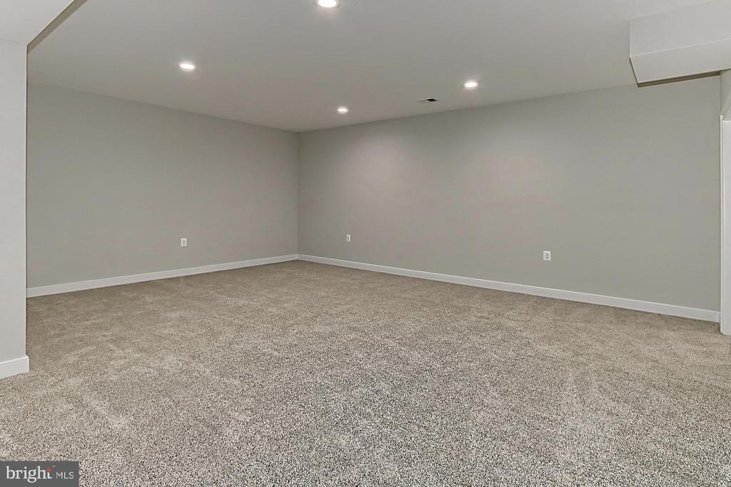 Lower Level Media Room - 7423 FOUNDATION WAY, SPRINGFIELD