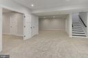 Lower level Rec Room - 7423 FOUNDATION WAY, SPRINGFIELD