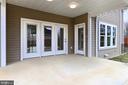 Rear patio - 7423 FOUNDATION WAY, SPRINGFIELD
