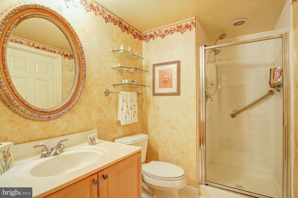 Ensuite bathroom with hallway access - 11776 STRATFORD HOUSE PL #409, RESTON