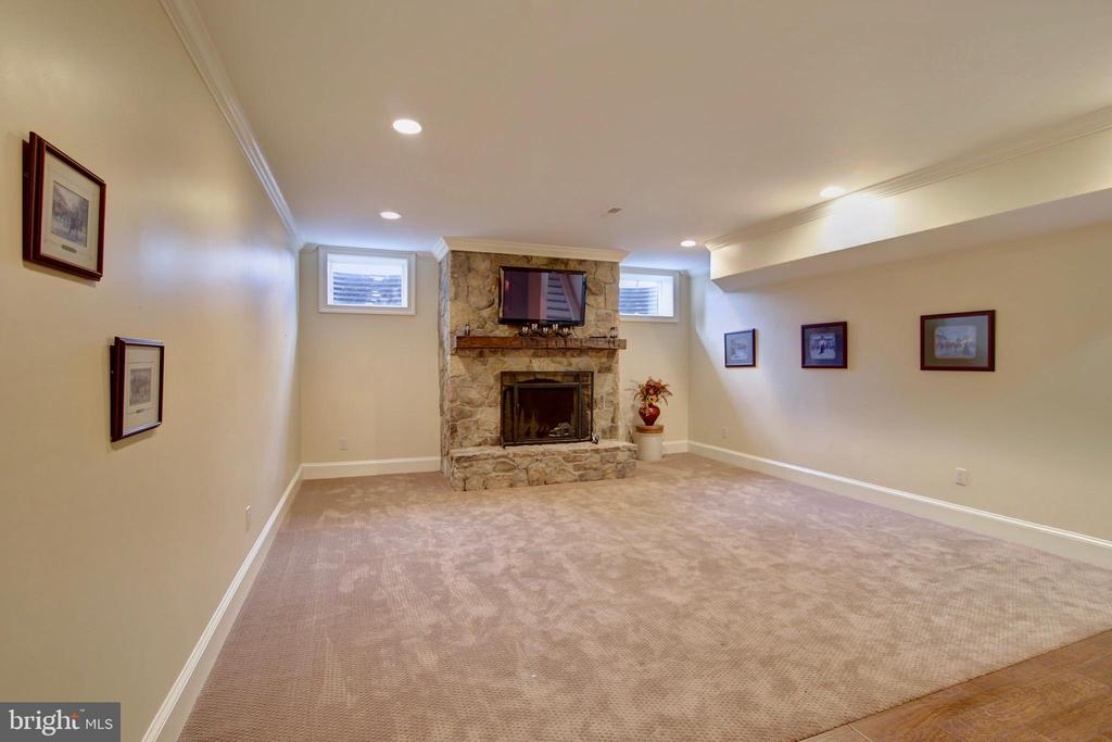 Lower Level Living Room Area - 40171 MONROE VALLEY PL, LEESBURG