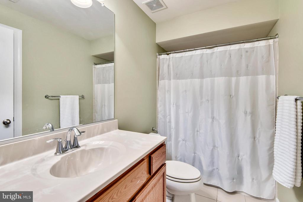 Full bath in lower level - 1903 EAMONS WAY, ANNAPOLIS