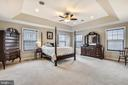 Tray ceiling in Owners Bedroom - 1903 EAMONS WAY, ANNAPOLIS