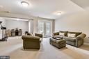 Lower level Rec Room - 1903 EAMONS WAY, ANNAPOLIS
