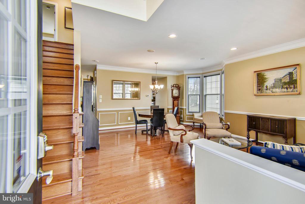 Hardwood floors throughout main level - 1903 EAMONS WAY, ANNAPOLIS