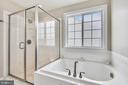 Owners bath with riverstone shower - 1903 EAMONS WAY, ANNAPOLIS