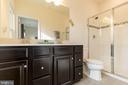 Luxury Master  Bathroom with Granite Dual Vanity - 41713 MCMONAGLE SQ, ALDIE