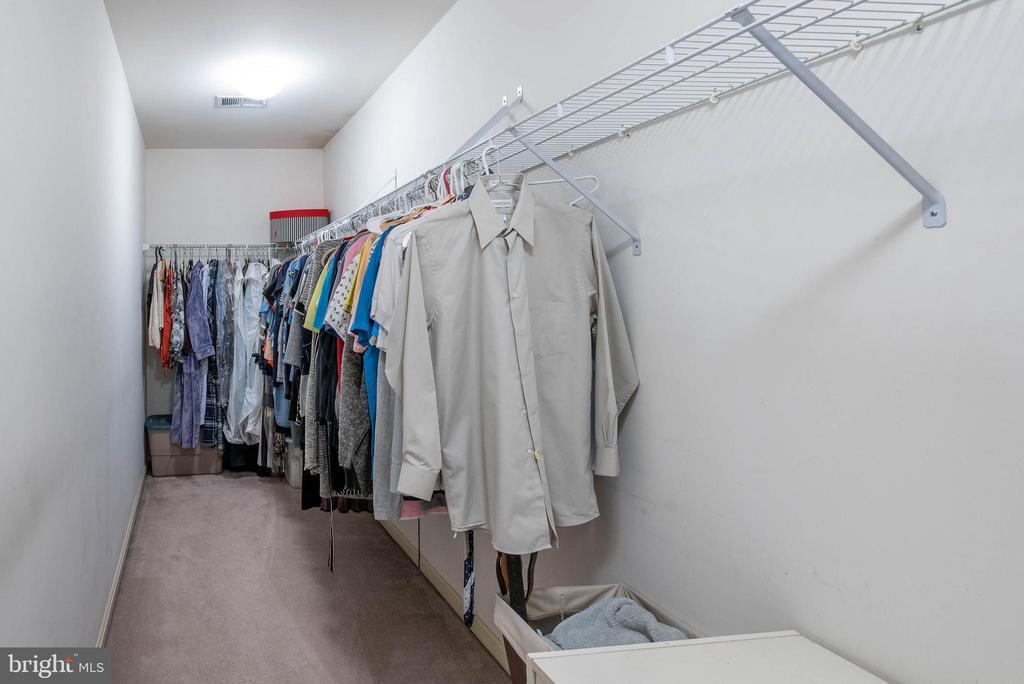 Walk-in closet in Master Suite - 18517 DENHIGH CIR, OLNEY