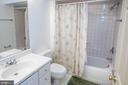 Basement full bath - 18517 DENHIGH CIR, OLNEY