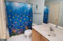 Bedroom level bath - 18517 DENHIGH CIR, OLNEY