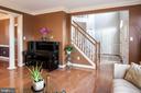 Living room - 18517 DENHIGH CIR, OLNEY