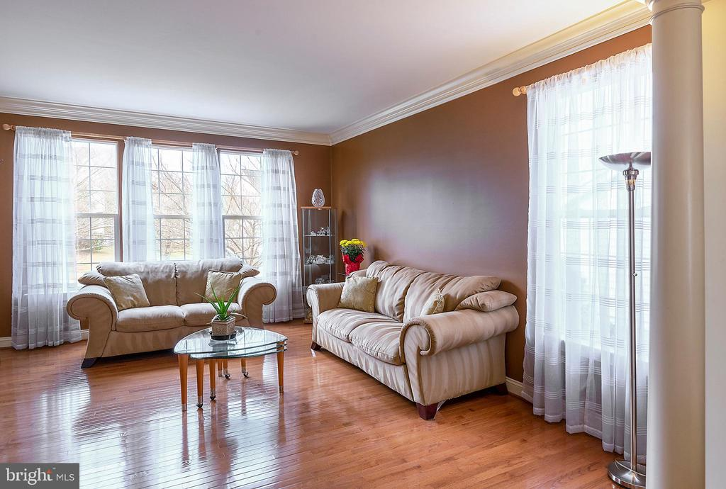 Living room with 2' extension - 18517 DENHIGH CIR, OLNEY