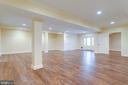 Recreation and game room. - 120 KINGSLEY RD SW, VIENNA