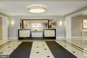Lobby/24 hour Concierge - 4601 N PARK AVE #809-J, CHEVY CHASE