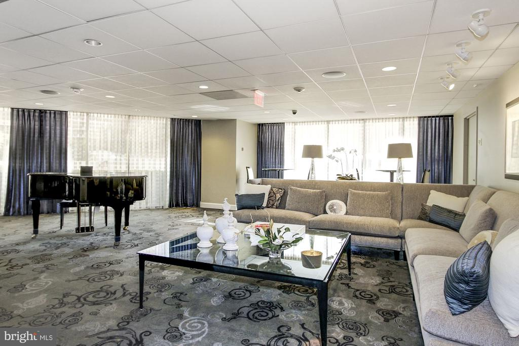 Piano Room - 4601 N PARK AVE #809-J, CHEVY CHASE