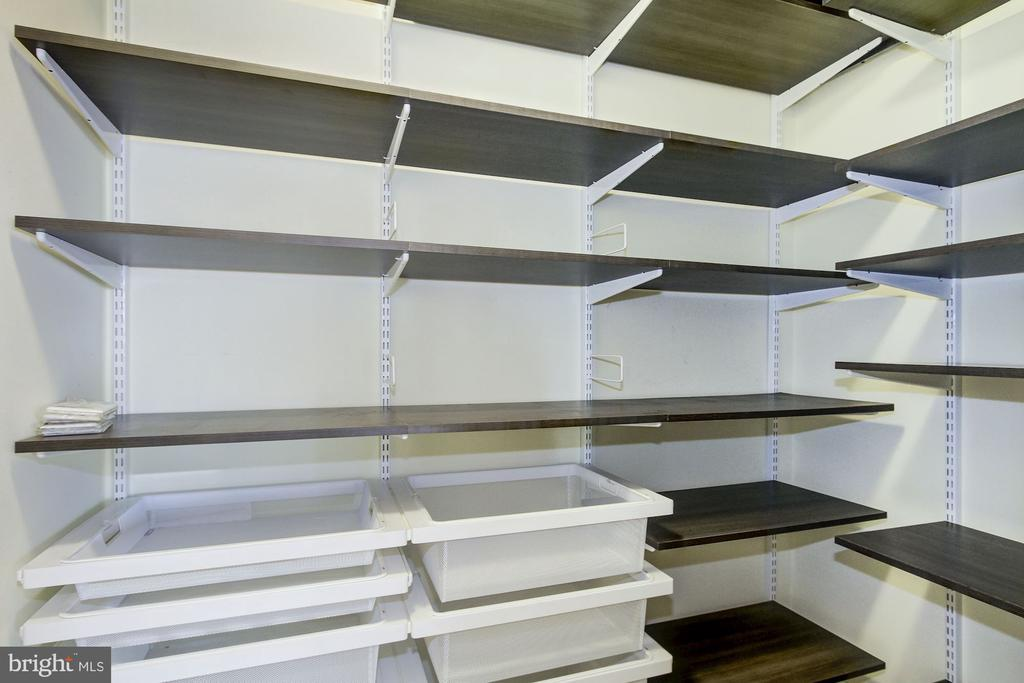 Hall Walk in Closet/Pantry - 4601 N PARK AVE #809-J, CHEVY CHASE