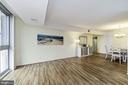 Light-Filled Living Room - 4601 N PARK AVE #809-J, CHEVY CHASE