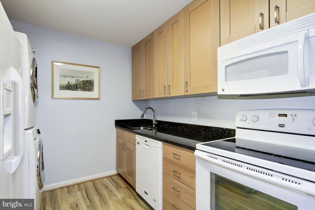 Updated Kitchen - 4601 N PARK AVE #809-J, CHEVY CHASE