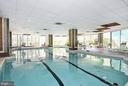 Indoor Pool - 4601 N PARK AVE #809-J, CHEVY CHASE