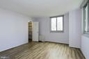 Bedroom with Walk in closet - 4601 N PARK AVE #809-J, CHEVY CHASE
