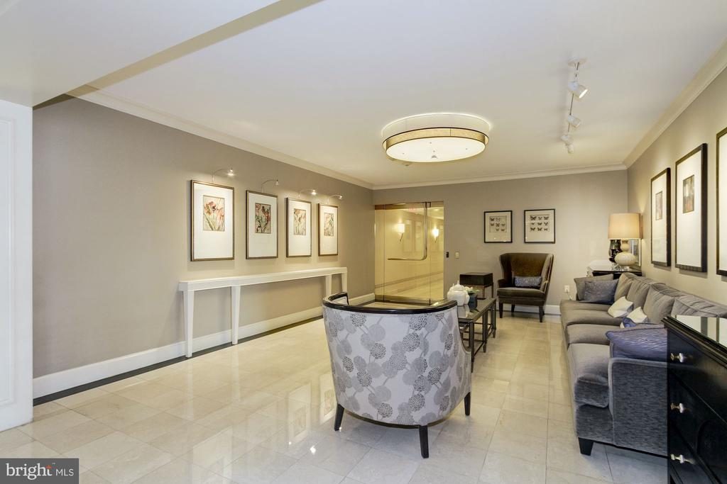 Lobby - 4601 N PARK AVE #809-J, CHEVY CHASE