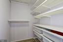 Walk in Closet - 4601 N PARK AVE #809-J, CHEVY CHASE