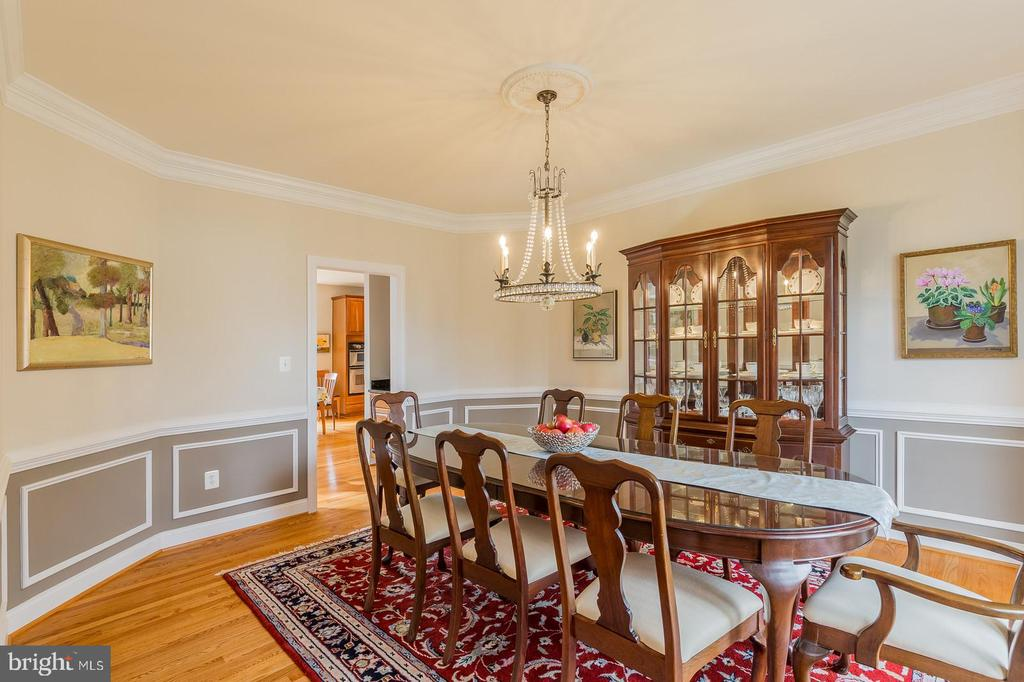 Embassy Sized Dining Room - 9321 WEIRICH RD, FAIRFAX