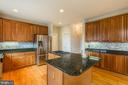 Designer Kitchen W/Stainless Steel Appliances - 9321 WEIRICH RD, FAIRFAX