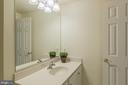 Full Bathroom in Lower Level - 9321 WEIRICH RD, FAIRFAX