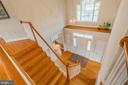 Hardwood Staircase - 9321 WEIRICH RD, FAIRFAX