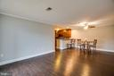 The entire condo has been freshly painted. - 302 GROSVENOR LN #3, STAFFORD
