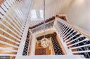 Staircase - 7309 BRIGHTSIDE RD, BALTIMORE