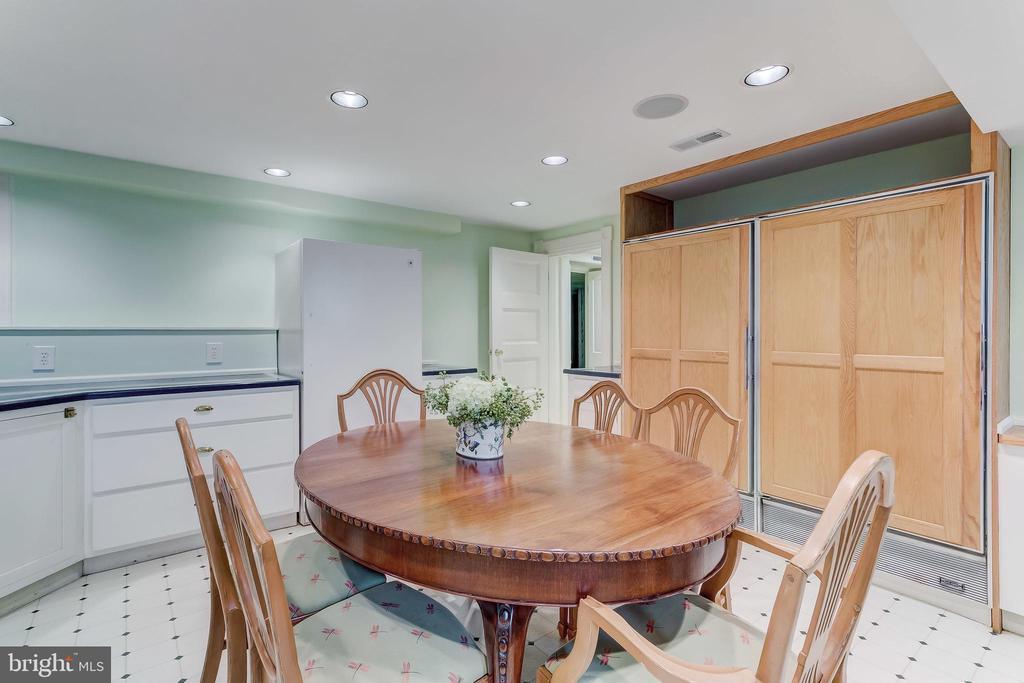 Lower Level Kitchen - 7309 BRIGHTSIDE RD, BALTIMORE