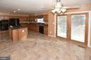 Eat in table area in kitchen - 9337 S WHITT DR, MANASSAS PARK