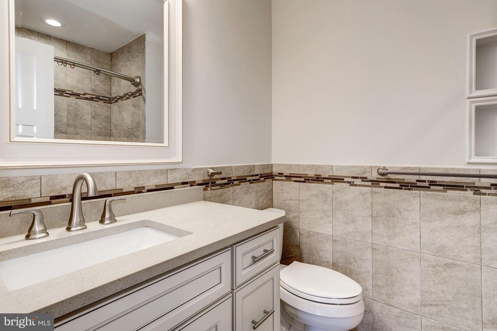 Hall bathroom - 6626 31ST PL NW, WASHINGTON