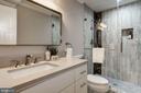 Lower level bathroom - 6626 31ST PL NW, WASHINGTON