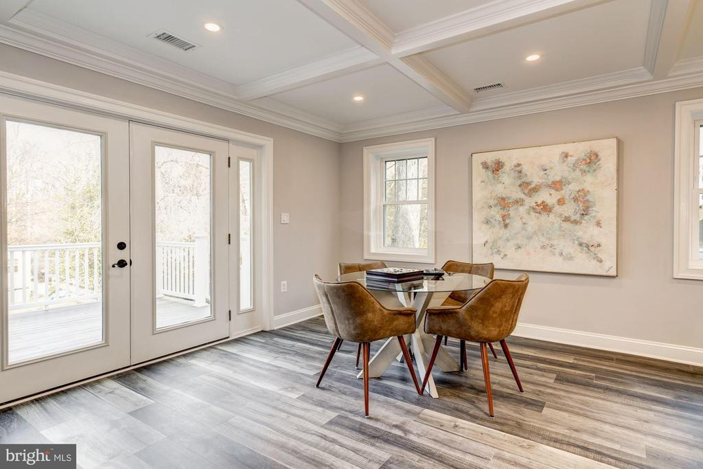 Recreation room is large enough for game table - 6626 31ST PL NW, WASHINGTON