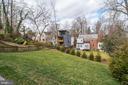 Wonderful rear yard ideal for play - 6626 31ST PL NW, WASHINGTON