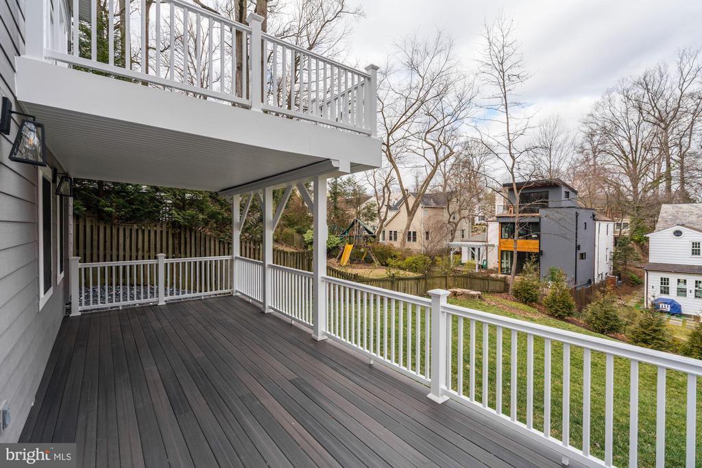 2-story decking system - 6626 31ST PL NW, WASHINGTON