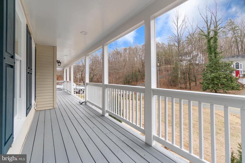 Wrap Around Porch with Space for Rocking Chairs - 2459 HARPOON DR, STAFFORD