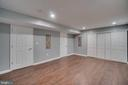 Large Basement with Tons of Storage - 2459 HARPOON DR, STAFFORD