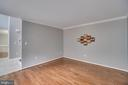 Wood Flooring in Office/Living/Flex Room - 2459 HARPOON DR, STAFFORD