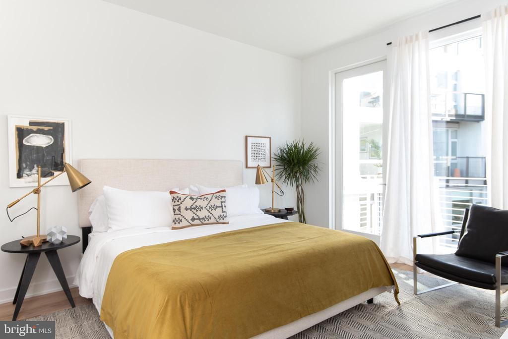 Master Bedroom - 1923 9TH ST NW #PH, WASHINGTON